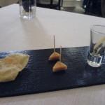 Restaurante Abantal: Aperitivo de Bienvenida