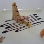 Restaurante Abantal: Entrante Primero (Foie)