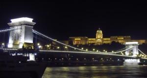 Puente de las Cadenas noche