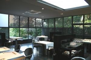 Salón del restaurante Diverxo (Original web Con Mucha Gula)